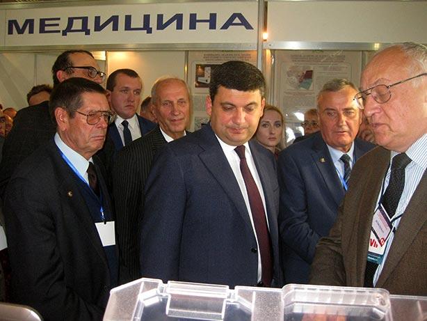 Посещение стенда ПАТОНМЕД VIP делегацией